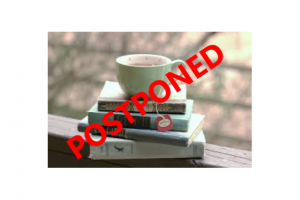 Books & Tea Postpone
